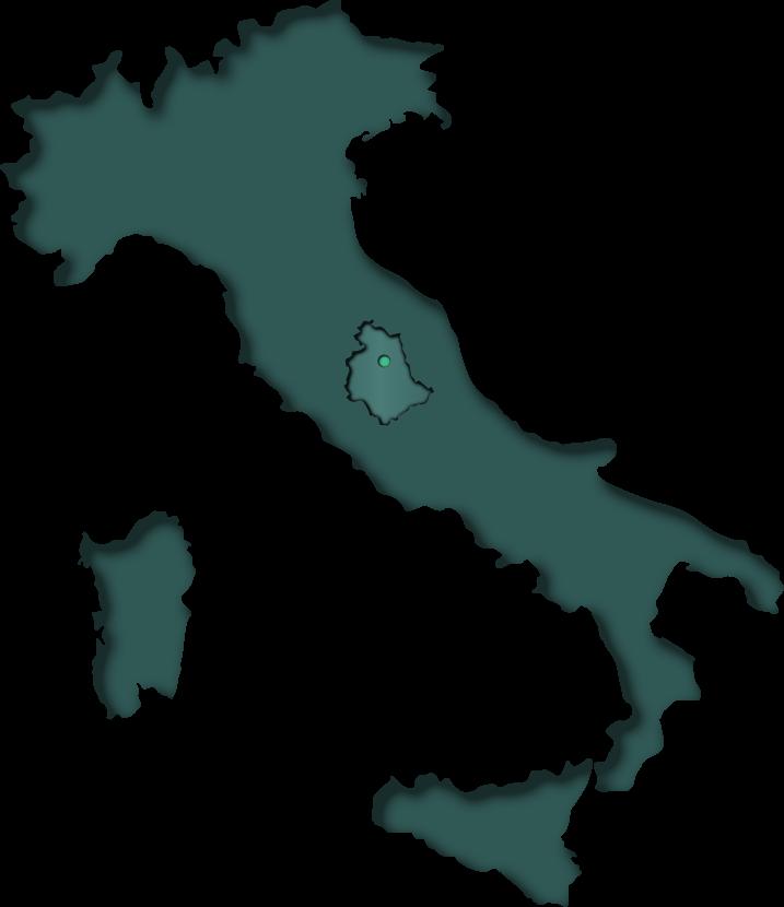 Italia green umbria Gubbio